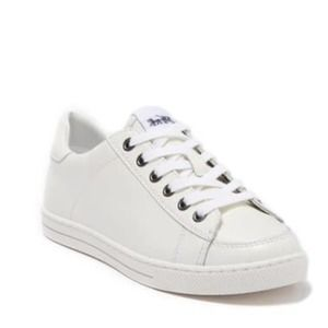Coach White Leather Fashion Sneakers
